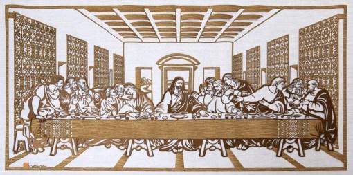 Cutteristic - Leonardo Da Vinci, Last Supper 1