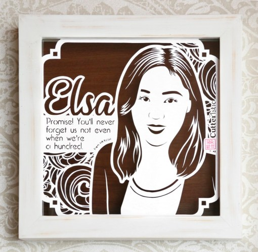 Cutteristic - Farewell Gift Elsa 1