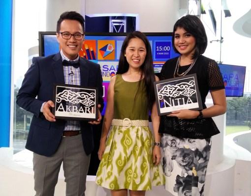 Cutteristic - Kompas TV Sapa Indonesia Siang 4 Maret 2015 1