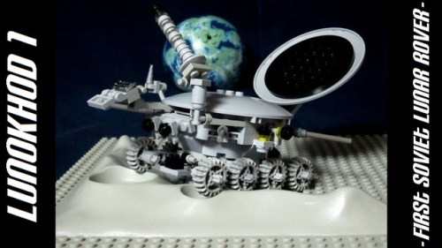 LEGO Lunokhod 1 on CUUSOO