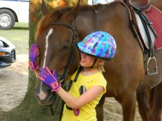 Horseback riding lessons and horse camp