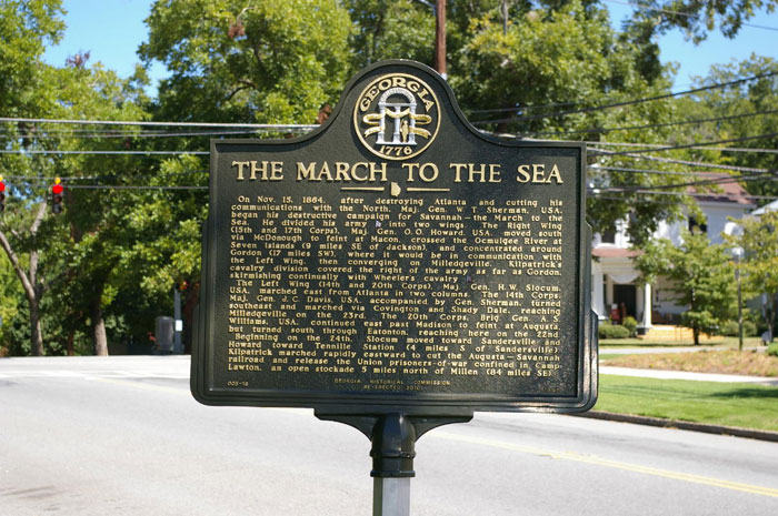 Sherman's March Marker