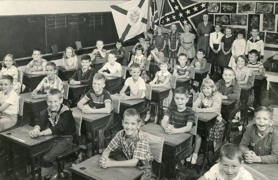 Confederate Flag Classroom
