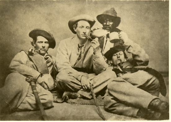 Officers of Company H (Independent Volunteers) of the 57th Georgia Regiment,