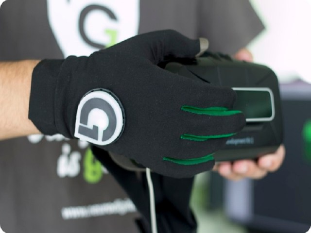 Gloveone - feel and touch objects and spaces in virtual reality via @missmetaverse for Cyberlife at Transhumanity.net