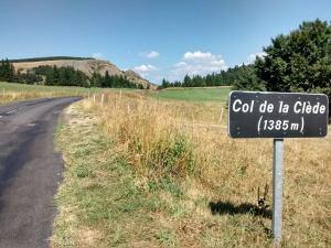 Le col de la Clède.