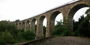 Le viaduc des quatorze arches.