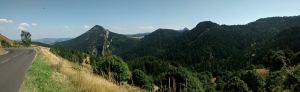 Panorama d'Ardèche (col de l'ardéchoise).
