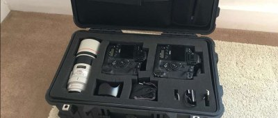 On photography gear safety and security and a backup strategy on the road