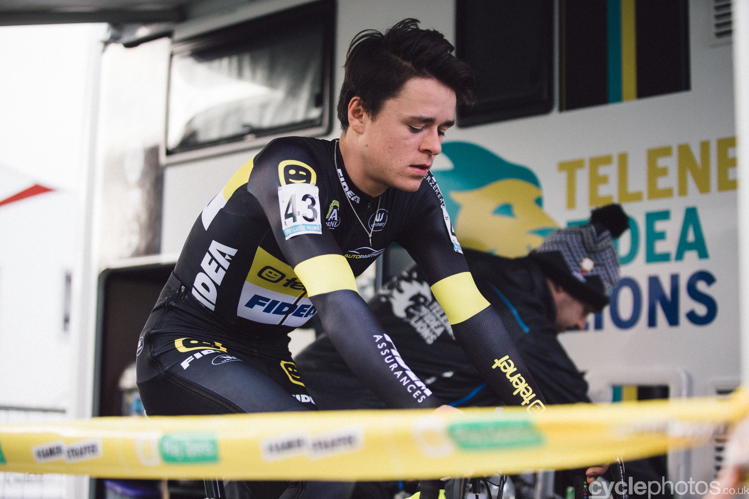 Tom Pidcock at Cyclocross Superprestige #5 - Gavere, BEL
