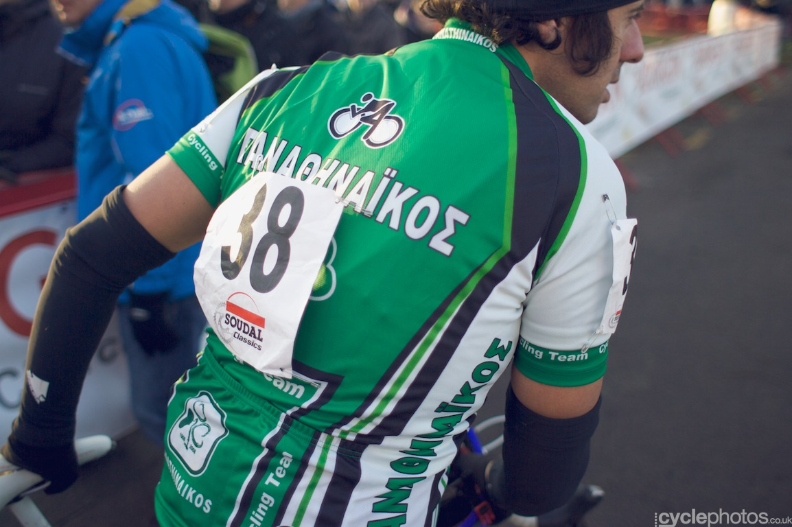 The odd rider of the week - Xirogiannis, the Greek.