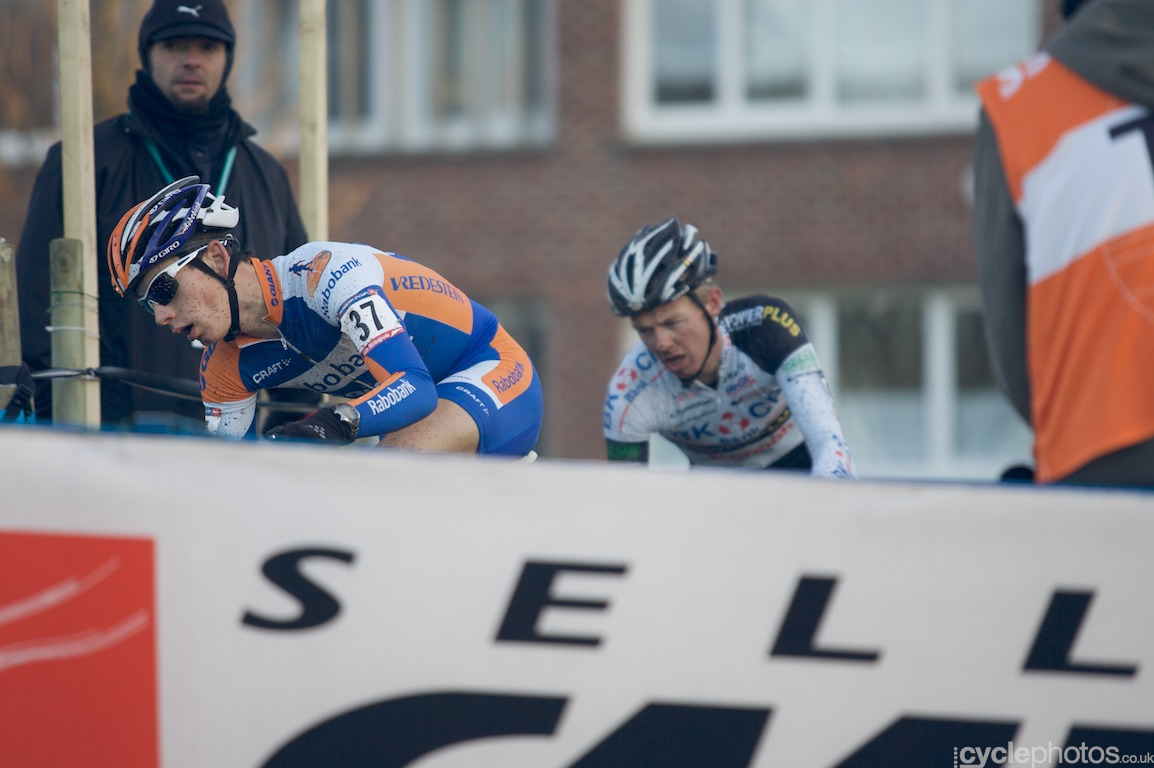 Lars van der Haar didn't show himself on the front much but his fifth place shows how strong he is