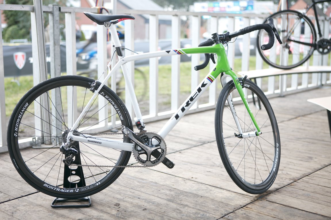 Sven Nys' all new Trek Boone cyclocross bike
