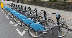 What happens when Dublin's rental bikes and the city's cobbled streets collide