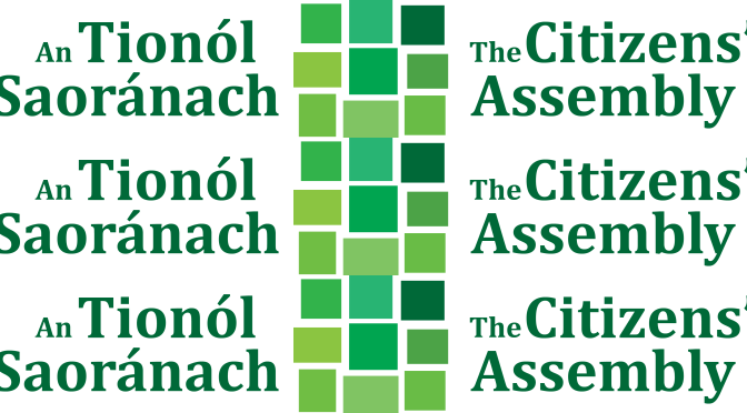 Citizens' Assembly submission on Climate Change
