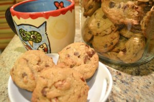 Oh So Good Chocolate Chip Pecan Cookies