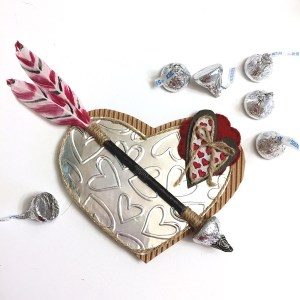 DIY Heart Valentine Arrow