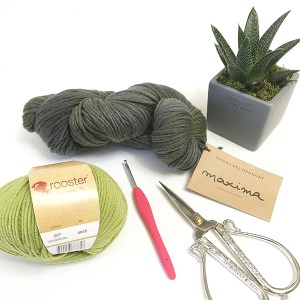beginner easy knit scarf
