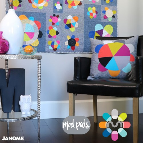 Janome Canada Maker: Mod Pods Pillow Pattern