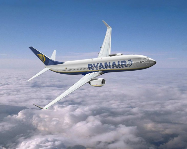 Cheap flights on Ryanair