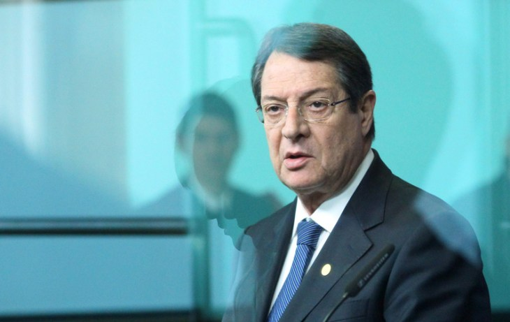 Anastasiades' letter to Ban circulated at Security Council