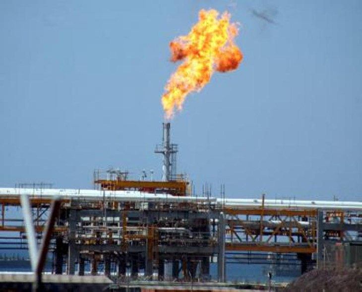 Production test for natural gas starts today