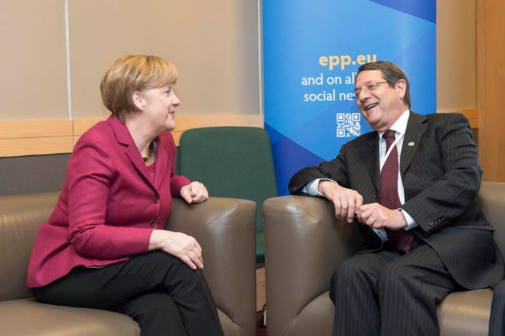 Anastasiades and Merkel have 'warm meeting'