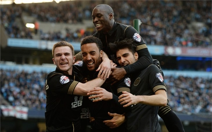 Wigan repeat FA Cup final upset to knock out Man City