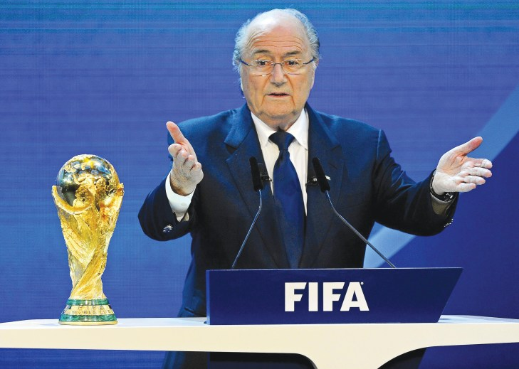 Be optimistic about Brazil, says Blatter amid growing concerns