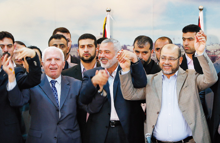 Hamas-Fatah announce reconciliation (Updated)