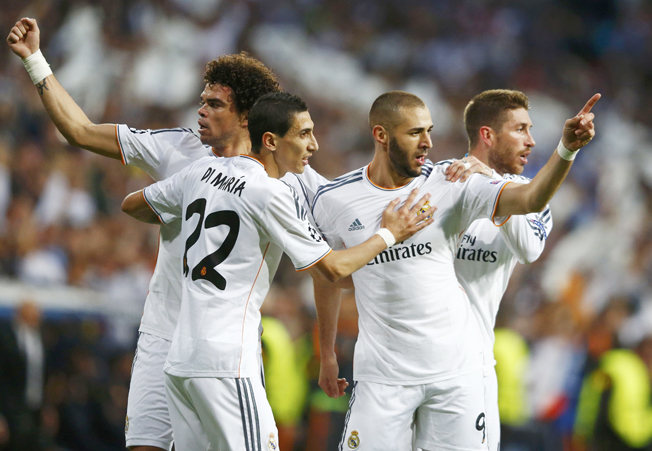 Benzema puts Real in charge against holders Bayern