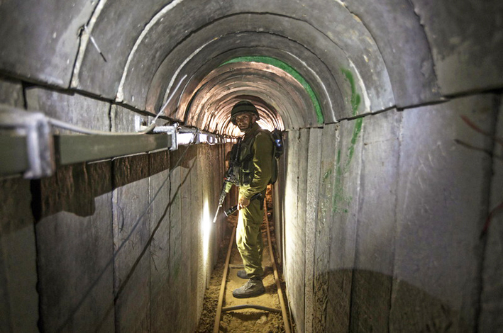 Netanyahu vows to complete Gaza tunnels destruction (Update 2)
