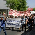 Paphos students back on the streets