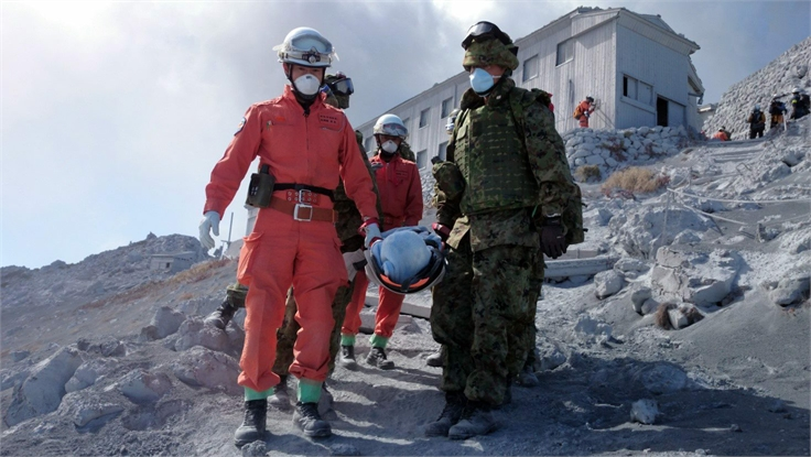 10 more bodies found at Japanese volcano