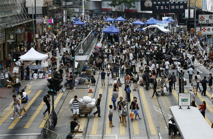 Some financial firms moving to back-up sites amid Hong Kong protest fears