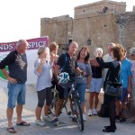 Cancer patient cycles around Cyprus for charity