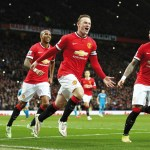 Rooney ends goal drought as United go third