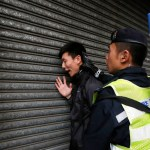 Hong Kong arrests 38 as anti-China protesters scuffle with police