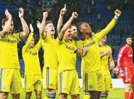 Chelsea poised to celebrate first title in five years