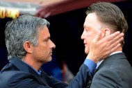 Pupil Mourinho aims to halt master Van Gaal again