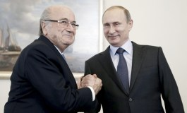 Putin: People like Blatter deserve Nobel Prize