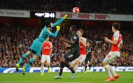 Liverpool's perfect record ended with Arsenal stalemate