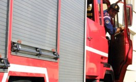 Fire in Limassol apartment building
