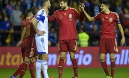 Holders Spain and Swiss join Euro 2016 finals party