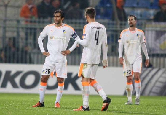 Goal-shy APOEL face daunting challenge at Schalke