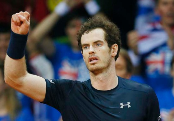 Murray levels Davis Cup final after Goffin survives scare