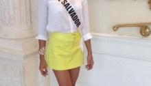 Patricia Murillo Miss El Salvador en Miss Universo