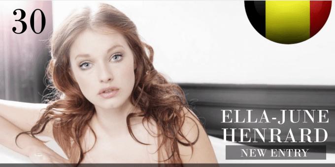 エラ=ユン・ヘンハルド 世界で最も美しい顔100人