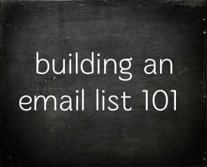 list-building101