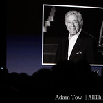 Phil Schiller introduces Tony Bennett to the stage at MacWorld 2009.